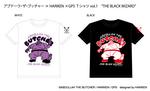 アブドーラ・ザ・ブッチャー × HARIKEN × GPS Tシャツ vol.1 『THE BLACK WIZARD』