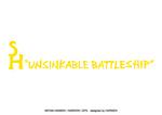 スタン・ハンセン × HARIKEN × GPS Tシャツ vol.1 『ANSINKABLE BATTLESHIP』