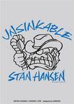 スタン・ハンセン × HARIKEN × GPS Tシャツ vol.3 『UNSIKABLE SH (FACE)』